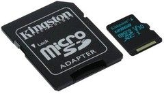 Kingston Canvas Go! 90R / 45W MicroSD + -sovitin