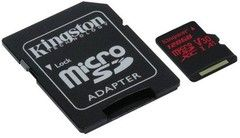 Kingston Canvas React MicroSD 100R / 80W + -sovitin
