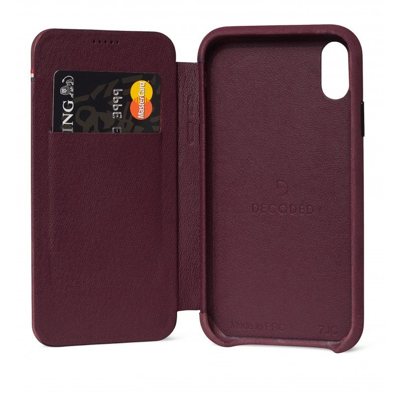 Decoded Slim Wallet Case (iPhone Xr)