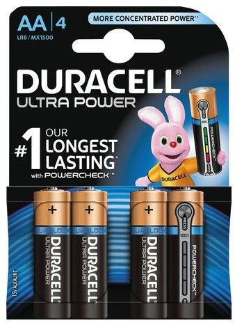 Duracell Ultra Power AA/LR6 4-pack
